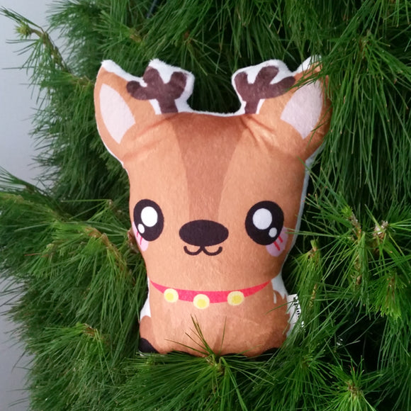 Limited Edition Christmas Reindeer Plushie