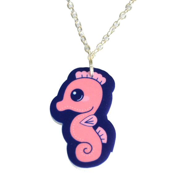Sweet Seahorse Necklace