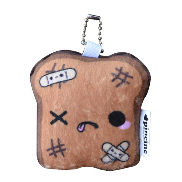 Burnt Toast Keychain