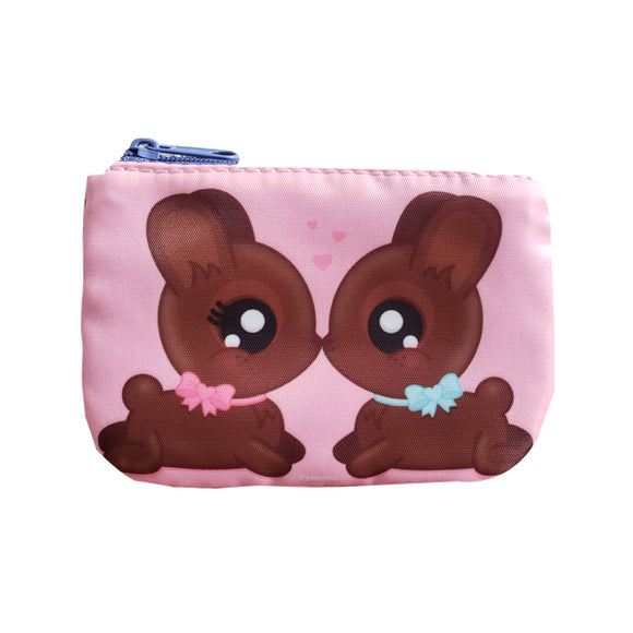 Chocolate Bunnies Coin Purse