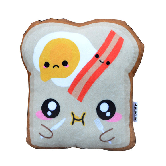 Bacon & Egg Toast Plushie