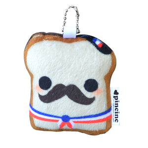 French Toast Keychain