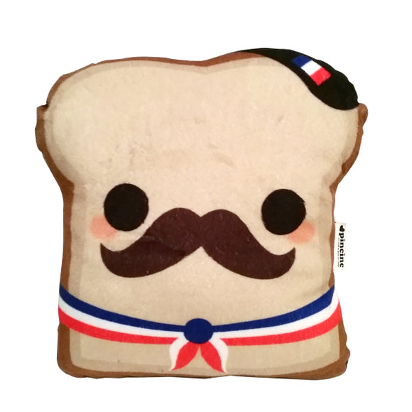 French Toast Plushie Handmade in New Zealand
