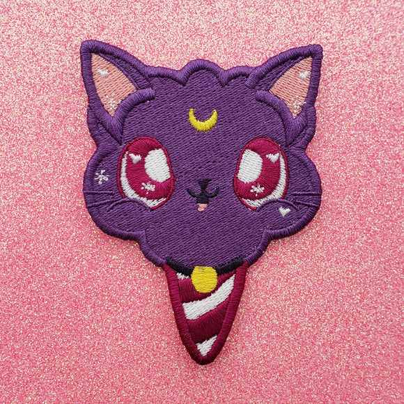 Luna Sailor Moon Embroidery Patch