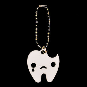 Sad Tooth Key Chain