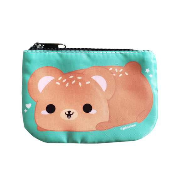 Sesame Bun Bear Coin Purse