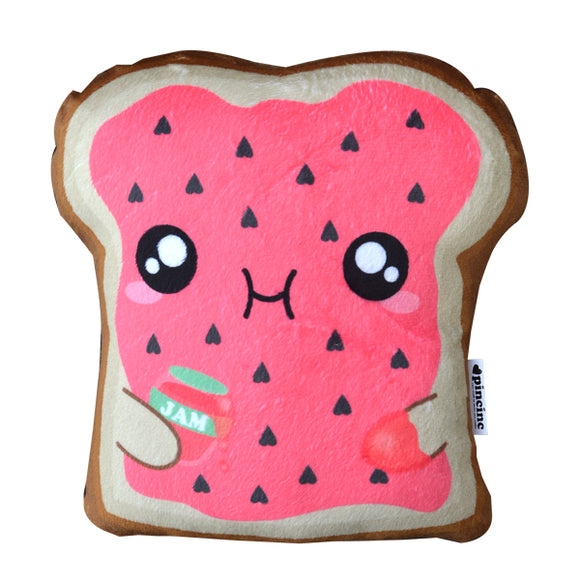 Strawberry Jam Toast Plushie