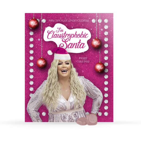 Gemma Collins Advent Calendar - Pink Chocolate 125g