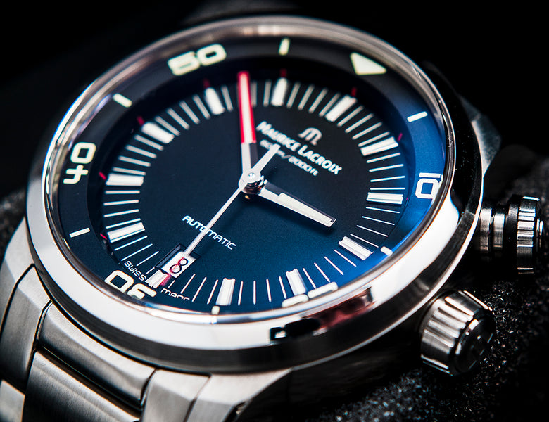 Maurice Lacroix Pontos S Diver (PT 6248) - An Underrated Twin-Crown Diver