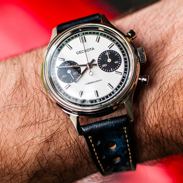 Geckota W-02 Vintage Mechanical Chronograph Racing Watch Review - The Vintage Experience Without the Hassle?