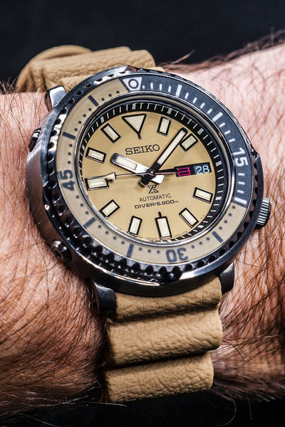 "Seiko Prospex ""Safari Tuna"" Review (SBDY059, SRPE29K1) - What's Wrong with being Fashionable?"