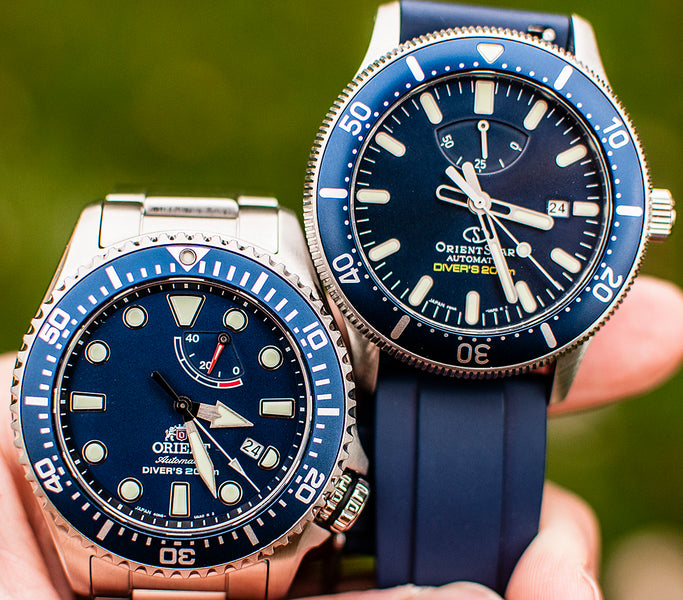 Orient Triton/Neptune vs. Orient Star Diver Watch Review. Is the Star Worth the Upgrade? (RA-EL0002L00A vs. RE-AU0302L00B)