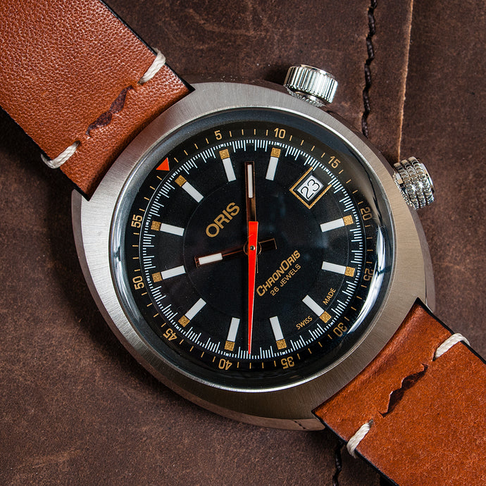 Oris Chronoris Movember Edition Watch Review - (01 733 7737 4034)