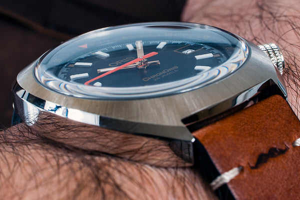 Oris Chronoris Movember Edition Watch Review - (01 733 7737 4034) Case Dial hands crystal