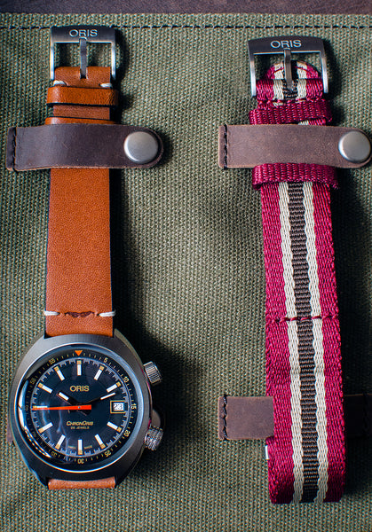 Oris Chronoris Movember Edition Watch Review - (01 733 7737 4034) Case Dial Straps Carrying