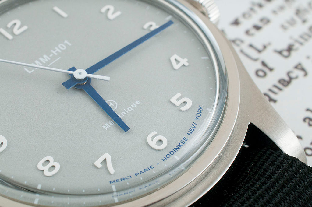 Merci LMM-H01 Limited Edition for Hodinkee