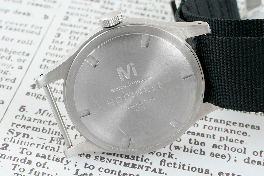 Merci LMM-H01 Limited Edition for Hodinkee Watch Review