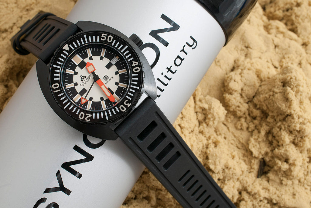 Synchron Military Watch Review Black PVD