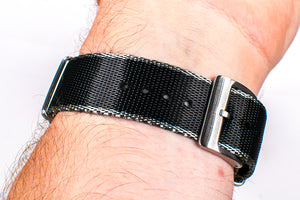 Seatbelt Nylon Watch Straps