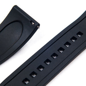 Ridge Rubber Quick Release Watch Straps