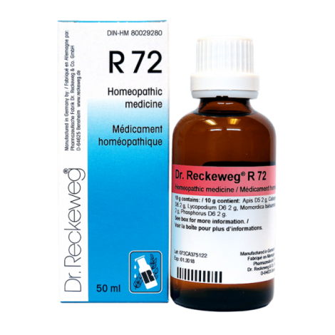 R72 Homeopathy Remedy for Disease of Pancreas