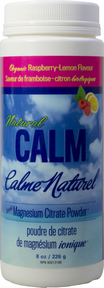 Natural Calm Magnesium | Organic Raspberry Lemon flavor