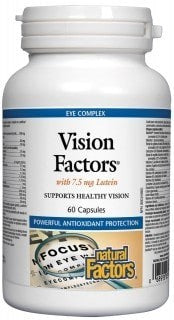 Vision Factors avec 7.5 mg Luteine