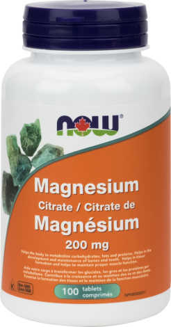 Magnesium Citrate 200 mg (Tablets)