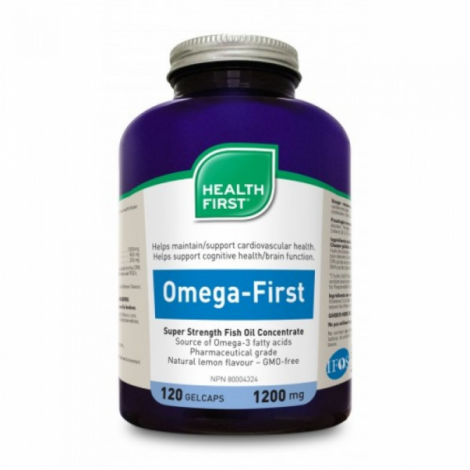 Oméga First | Super Concentré - 1200 mg