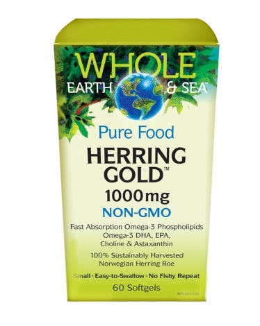 Whole Earth & Sea - Hareng or 1000 mg