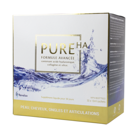 PureHA Advanced Formula | Containing Hyaluronic acid collagen and silica