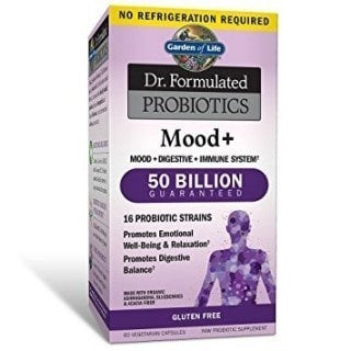 Probiotics Mood+ de Dr. Formulated