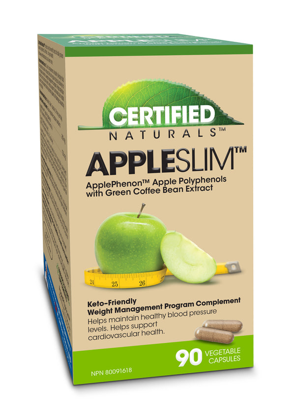 Certified Natural AppleSlim for Weight Management
