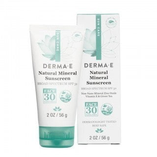 Natural Mineral Sunscreen Broad Spectrum SPF 30 Oil-Free (Face)