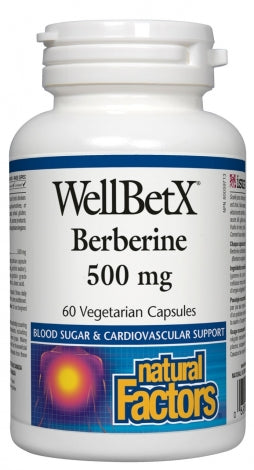 WellBetX - Berberine 500mg