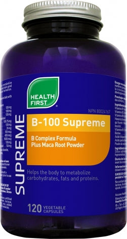 B-100 SUPREME PLUS MACA - Energy