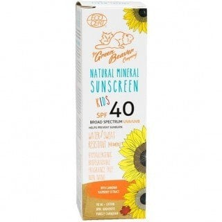 Kids Natural Mineral Sunscreen Lotion SPF 40