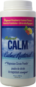 Natural Calm Magnesium | Organic raspberry-lemon flavor