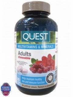 Multivitamines Adulte à croquer