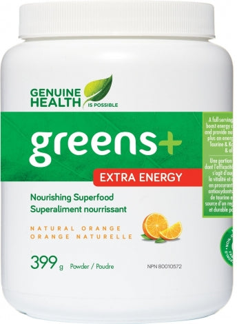 Greens+ Extra Energy - Orange Naturelle