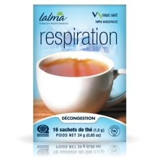 Respiration herbal tea (respiratory tracts)