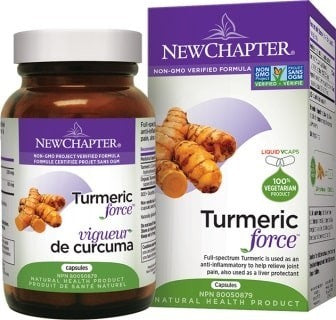 Turmeric Force™ Promotes the Body's Natural Healthy Inflammation Response