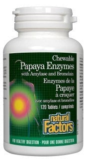 Papaya Enzymes with Amylase and Bromelain