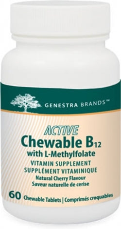 Active Chewable B12 + Methylfolate