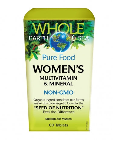 Whole Earth & Sea femme Multivitamine et Minéraux,