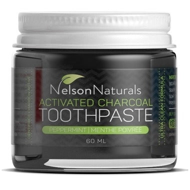 Nelson Naturals | Activated Charcoal Toothpaste