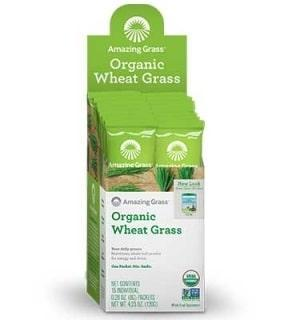 Organic Wheat Grass - 15 packets