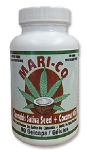 MARI-CO | Hemp Seed + Coconut Oil