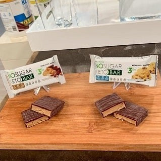 Vegan Pure No Sugar Keto Bar
