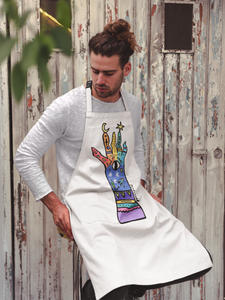Find your magic Rainbow Apron